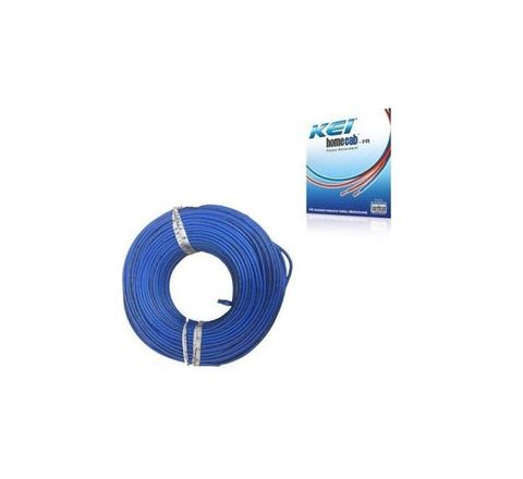 Kei 6 Sq.mm (Length 180 m) FR PVC Insulated Cable Blue