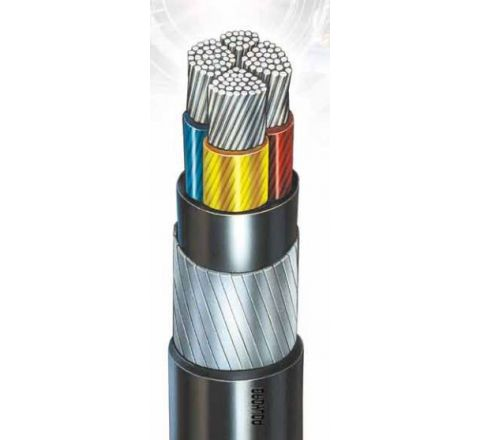 POLYCAB Armoured A2Xfy 240 Sq. mm 3.5 Core LT Power Cables
