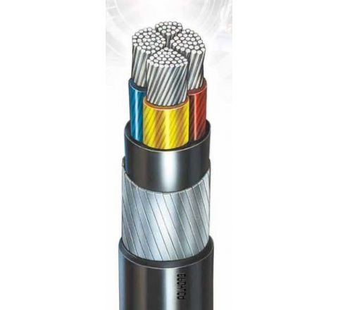 POLYCAB Unarmoured A2Xy 240 Sq. mm 3.5 Core LT Power Cables