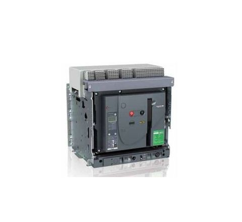 Schneider Draw Out Type Circuit Breaker 1250A 4 Pole MVS12N4NW2L