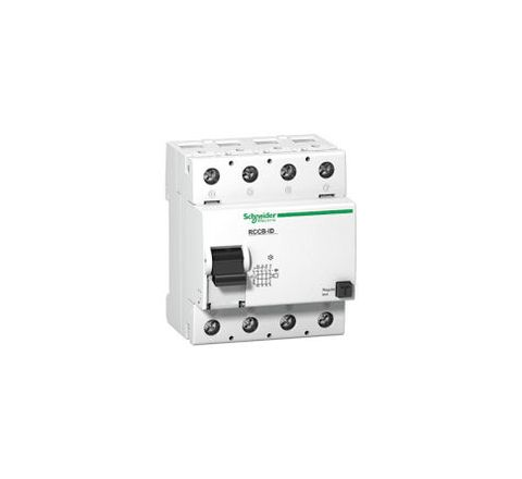 Schneider 16906 125 A 100 mA Residual Current Circuit Breaker