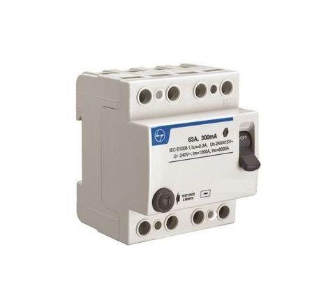 L&T BG404010 40 A 100 mA Residual Current Circuit Breaker