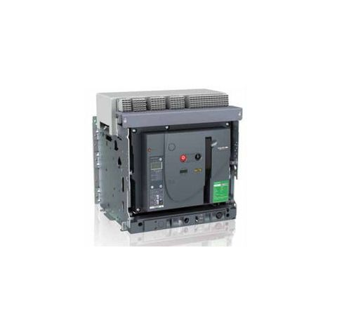 Schneider Draw Out Type Circuit Breaker 1250A 3 Pole MVS12N3NW2L