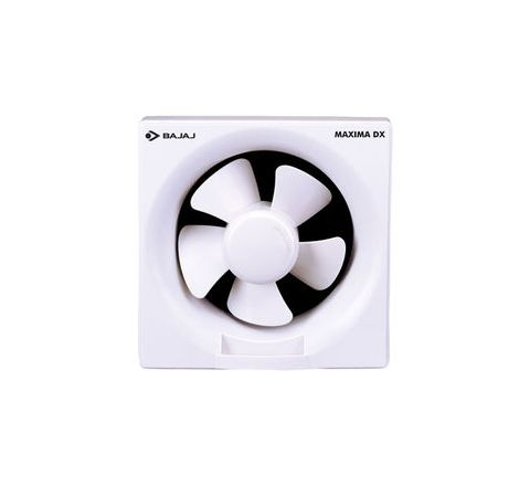 Bajaj Maxima DXL 150 mm Exhaust Fan (White Dom)