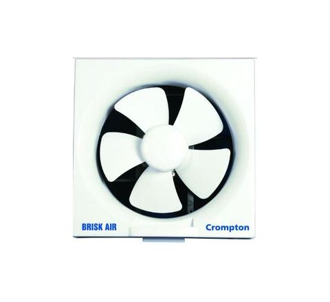 Crompton Brisk Air 200 mm White Exhaust Fan BRISKAIR8WHT