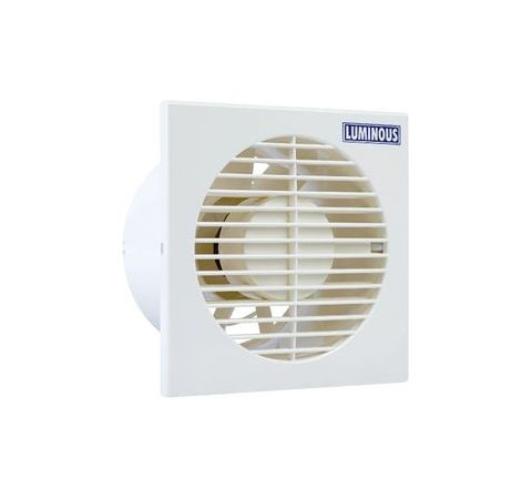 Luminous TVFKK04H40000 Vento Axial Exhaust Fan (2200 RPM 105 CMH White)