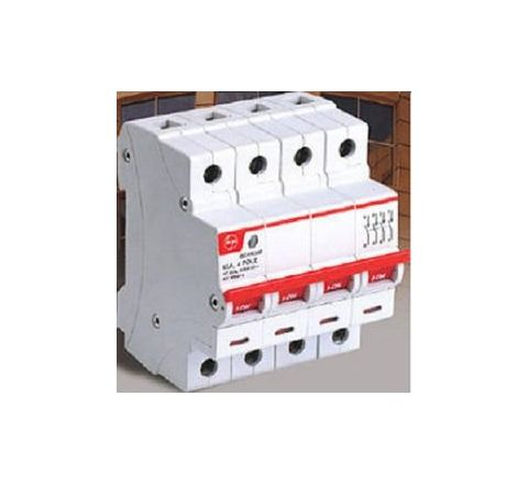 L&T BF406300 Four Pole Isolator