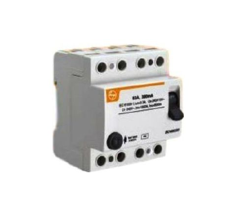 L&T BG406310 63 A 100 mA Residual Current Circuit Breaker