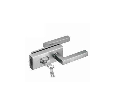 Zaha Glass Door Lock With Mortise Lock & Handle ZHGL-022