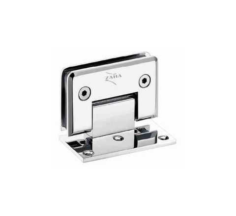 Zaha Wall to Glass Hinge 90-degree One Side Plate ZHSF-002