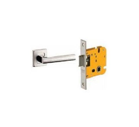 Dorset Lever Handle Lock Set with Mortise Latch Stainless Steel ML CAR OR