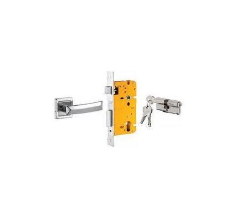 Dorset 70 mm Lever Handle Lock Set with Both Side Key Cylinder Patina ML QU OR