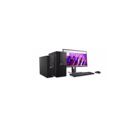 Dell Intel Core i5-7500T 19.5 Inches Win 10 Pro 7th Gen Black Desktop