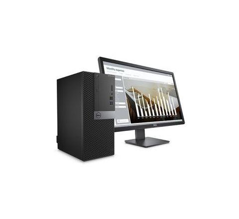 Dell Intel Core i3-6100 19.5 Inches Win 10 Pro 6th gen Desktop