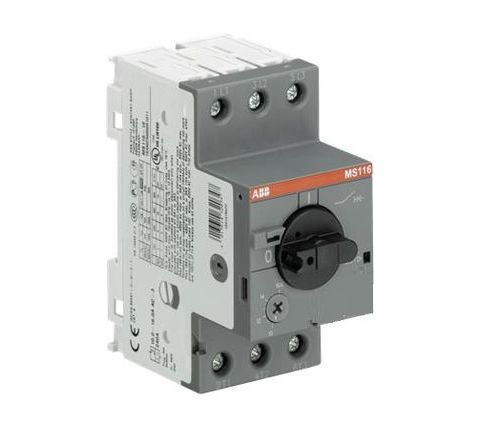 ABB Manual Motor Starter 6.3A MS116-6.3
