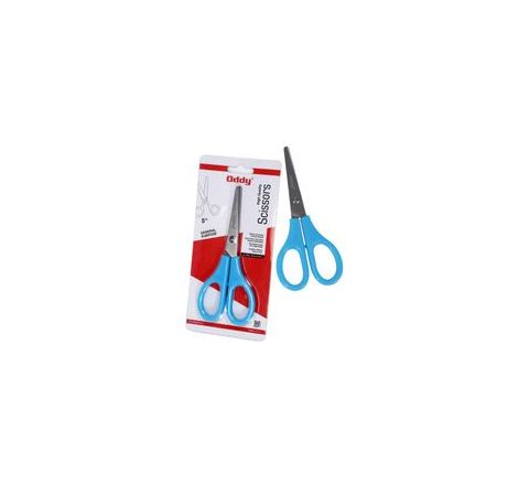 Oddy SS500A Stationery Scissor 5 Inches Set of 6