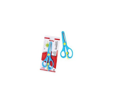 Oddy SS500C Child Safe Kids Scissor 5 Inches Set of 6