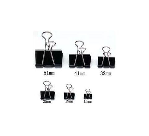Oddy Binder Clip 15mm (Pack of 12 Pcs) OD027OS67KCUINSTA-9220