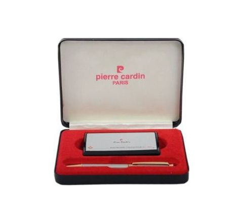 Pierre Cardin Cristal Intelligent Ball Pen and Electronic Calculator Gift Set