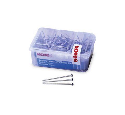 Kores 70gms / 700 Paper Pins (Plastic Box)