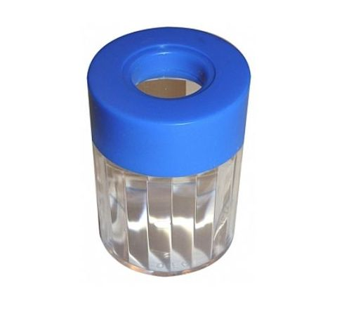 Omega Pin and Clip Dispenser Round (Pack Of 10) Model No 10PAC-OM-1794
