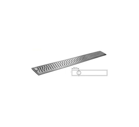 Jayna Jadore 100 x 800 x 30 mm Shower Channel - JSC 04