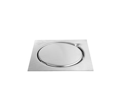 Jayna Gratings 127 mm Glossy Floor Drain With Frame - ESG 127