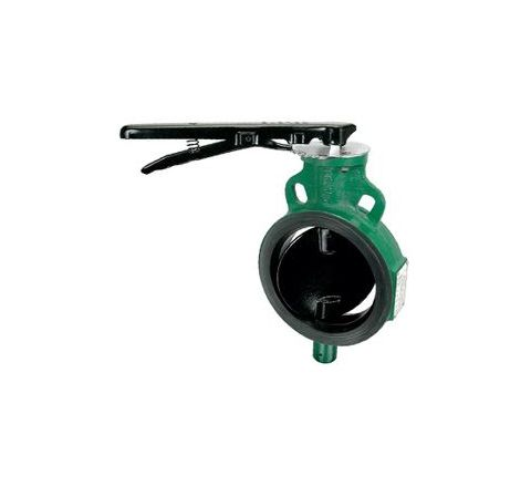 Zoloto 150 mm PN16 Pressure Class Wafer Type Butterfly Valve - 1078