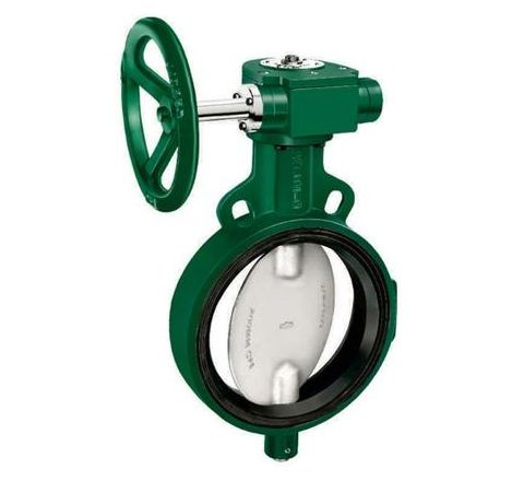 Zoloto 600 mm PN-10 Pressure Class Wafer Type Butterfly Valve - 1078A