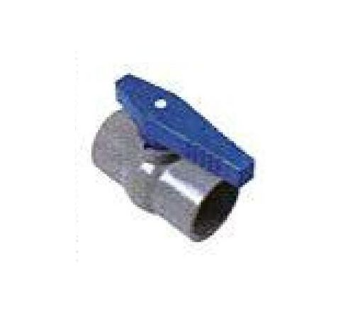 Watertec 63 mm Threaded Long Handle RPVC Ball Valve