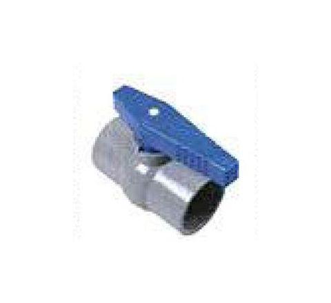 Watertec 63 mm Plain Long Handle RPVC Ball Valve