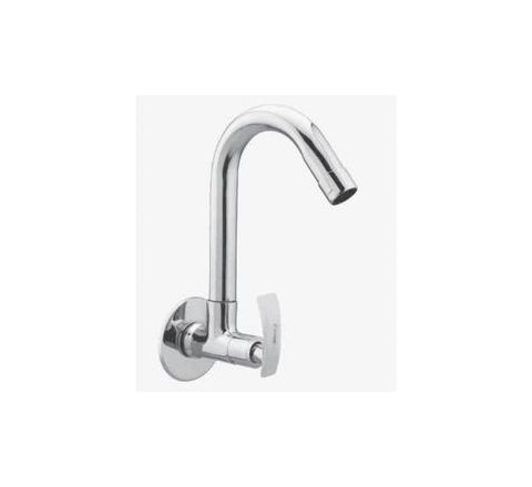 Kerro Sink Cock Faucet Material Brass Finishing Chrome