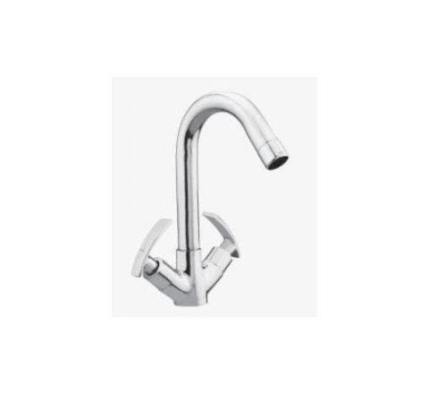 Kerro Center Hole Faucet (Material Brass, Finishing Chrome) - CU 08