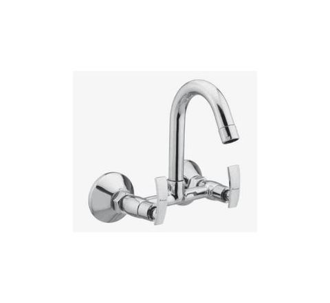 Kerro Sink Mixture Faucet (Material Brass, Finishing Chrome) - CU 09