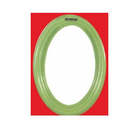 Watertec Oval Maxi Mirror (Inner Dia 440mm, Outer Dia 550 mm) - Green