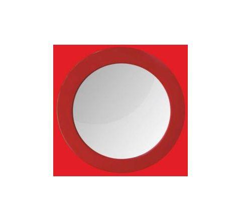 Watertec Round Mirror (Inner Dia 340 mm) - Red