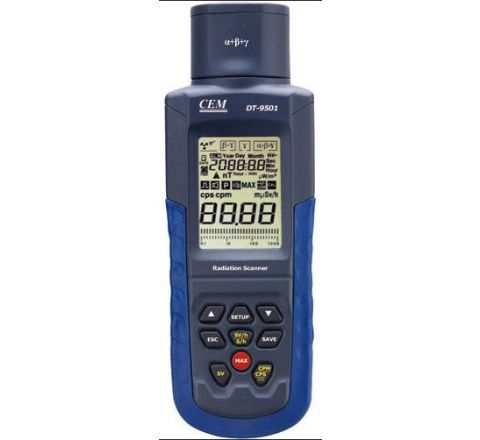 CEM DT-9501 Range 0-30000cpm Radiation Meter