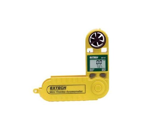 Extech 45118 Velocity Range 0.5 to 28m/s Mini Thermo-Anemometer