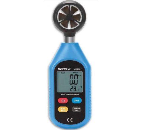 Metravi AVM-01 Digital Thermo-Anemometer 0 - 30m/s