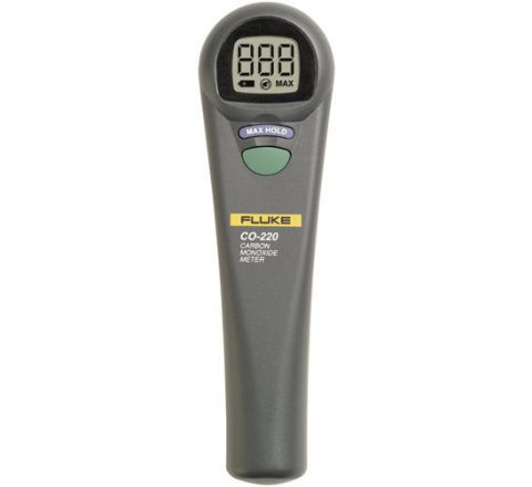 Fluke CO-220 Carbon Monoxide Meter 1 to 1000 ppm