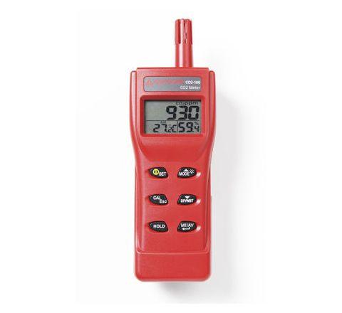Amprobe CO2-100 Hand-Held Meter 0 to 9999 ppm