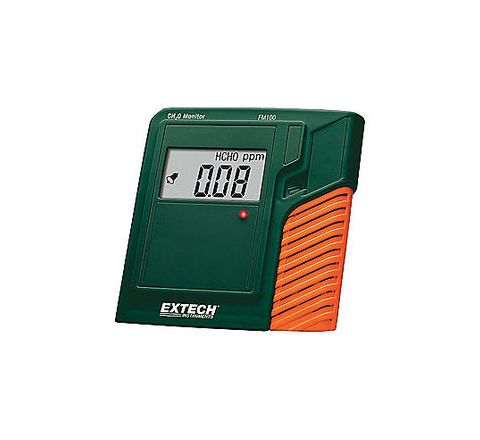 EXTECH 20% to 90% No No LCD (4) AAA Batteries +/-5% 32 Degrees to 122 Degrees F