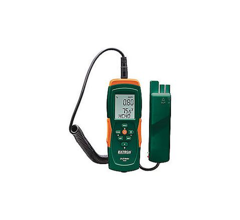 EXTECH 10% to 90% Yes Yes Triple LCD (4) AAA Batteries +/-5% 32 Degrees to 122 Degrees F