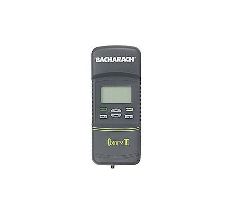BACHARACH Oxygen Analyzer 2 Years Yes 4 Digit LCD (4) AA Batteries 0.1%