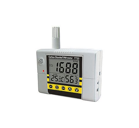 GENERAL IAQ Analyzer 8 to 140F 0.00 -100 to 140F 0 to 99.9% Large LCD