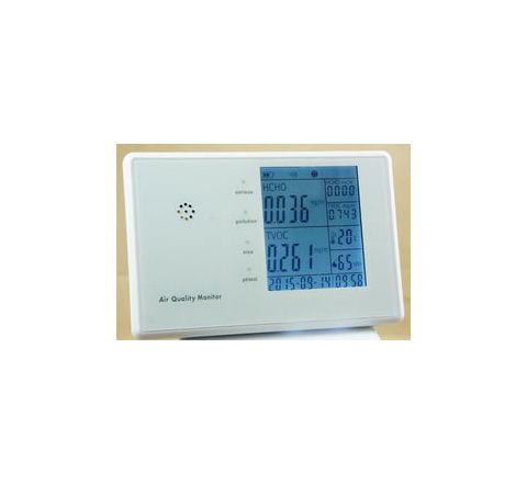 Precise 6 in 1 Air Quality Monitor with PM 2.5 & PM 10 AQPM-801