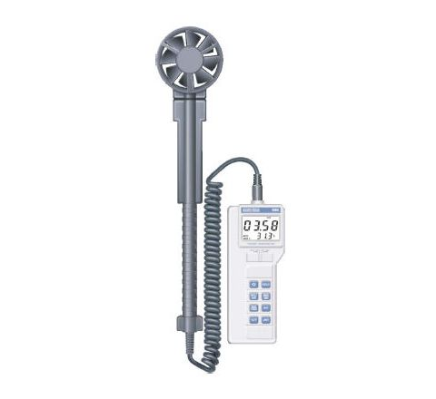 Kusam Meco KM 909 3½ Digit (Dual Display) Thermo Anemometer