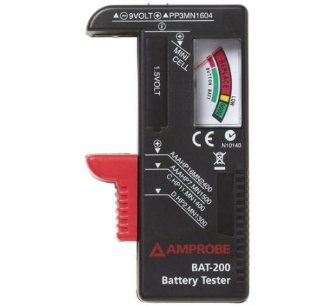 Amprobe BAT-200 Battery Tester 1.5V