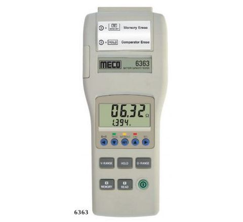 Meco 6363 Battery Capacity Tester Voltage Range 4V to 40V