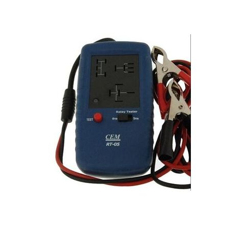 CEM RT-05 Range 20-500 Automotive Relay Tester